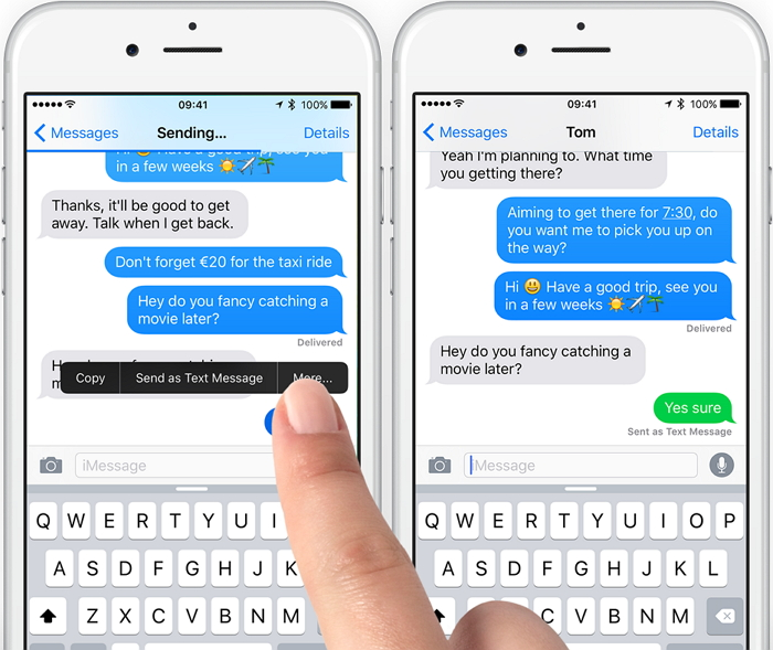 Photo of How to Send Text Message Instead of iMessage on iPhone