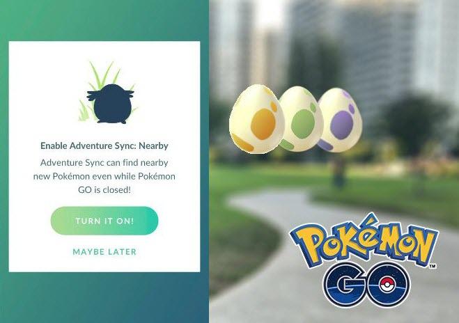 Pokémon Go Adventure Sync Not Working 2021