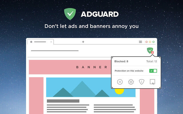 adguard remove banner ads