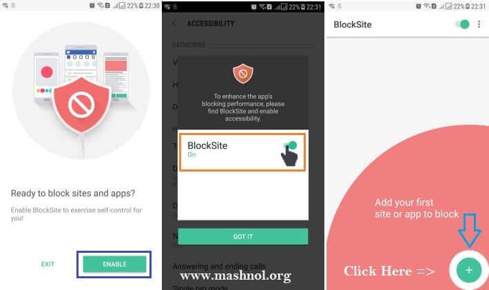 block websites blocksite