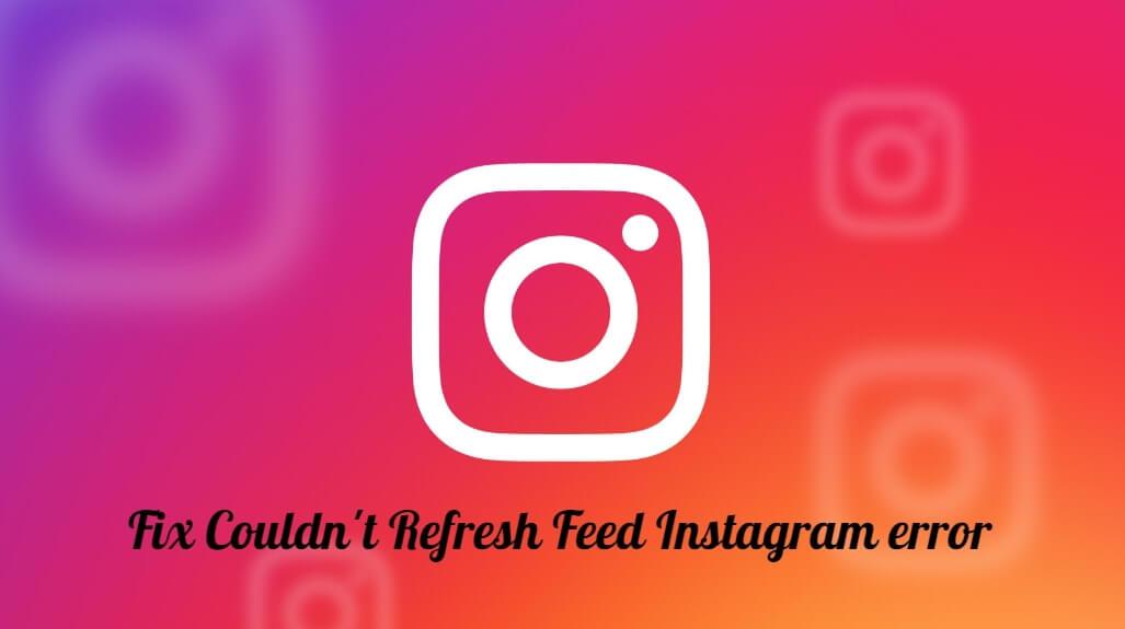 fix instagram