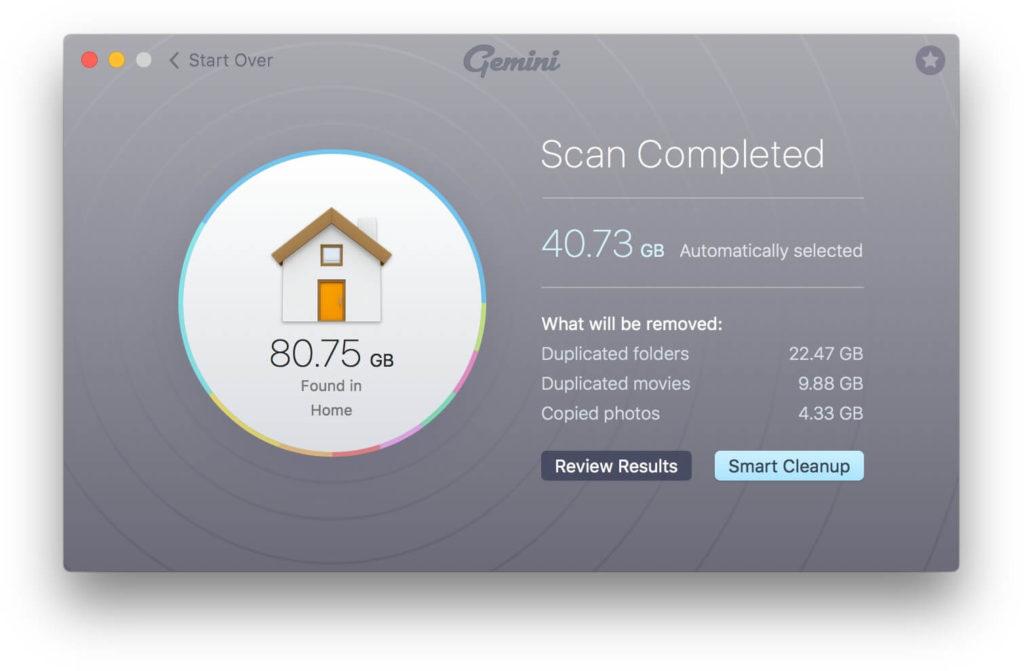 gemini complete scanning