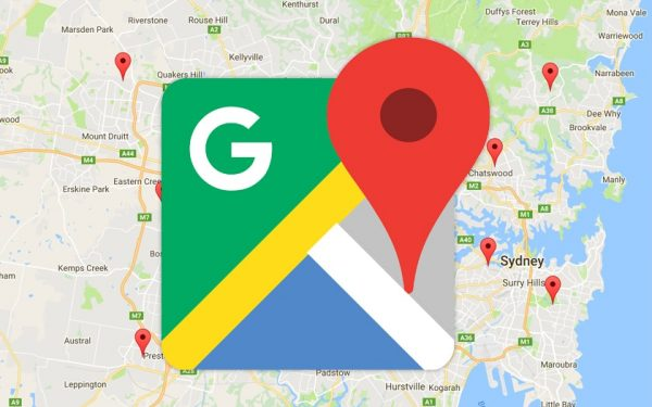 Google Map tracker