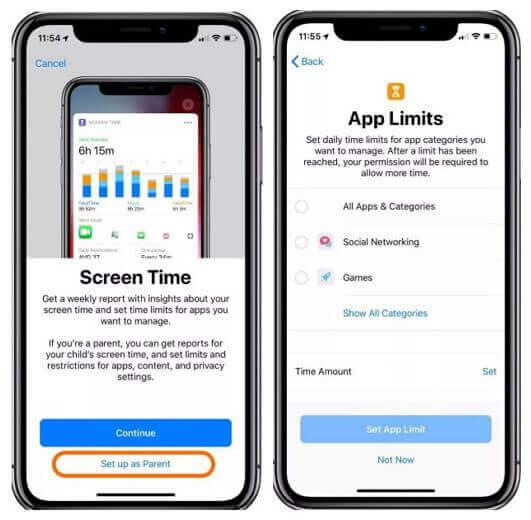 set app limit