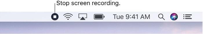 Stop Screen Recording